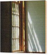 Sunshine Streaming Through Window Wood Print
