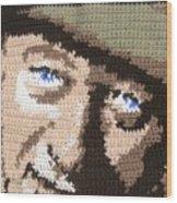 Suntan John Wayne Wood Print