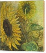 Sunworshipper II Wood Print