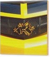 Super Bee Camaro Grill Wood Print