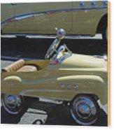 Super Buick Toy Car Wood Print