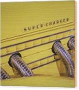 Super Charged Wood Print