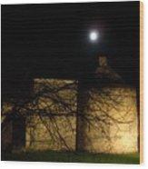 Super Moon 03.19.2011 Wood Print