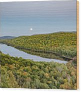 Super Moon Rise Sept. 27, 2015 Wood Print