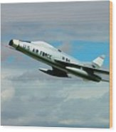 Super Sabre North American F-100  Wood Print