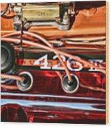 Super Stock Ss 426 IIi Hemi Motor Wood Print