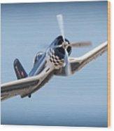 Super Wings For Bob Wood Print