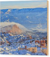 Superb View Of Sunset Point, Bryce Canyon National Park Wood Print