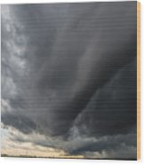 Supercell Overhead Wood Print