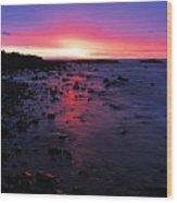 Superior Dawn Wood Print