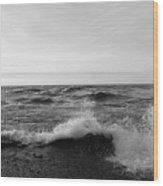 Superior Waves Wood Print