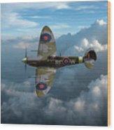 Supermarine Spitfire Vb Wood Print