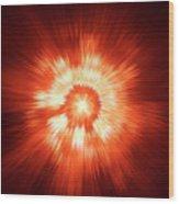 Supernova 2 Wood Print