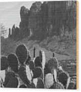 Superstition Mountain 2 Wood Print