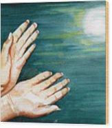 Supplication Wood Print