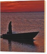 Support Commercial Fishermen 6 411 Wood Print