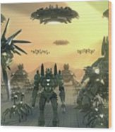 Supreme Commander 2 Wood Print