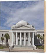 Supreme Courthouse In Tallahassee Florida Wood Print