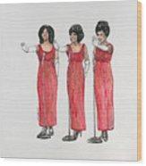 Supremes Wood Print