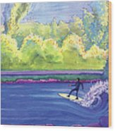 Surf Colorado Wood Print