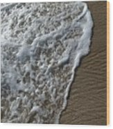 Surf Intricacies  Wood Print