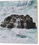 Surf No. 134-1 Wood Print