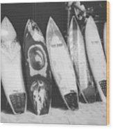 Surf Rodeo Wood Print