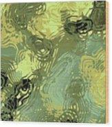 Surface Of An Ohio Creek Wood Print