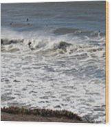 Surfer 53 Wood Print