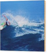 Surfer Charles Martin Nbr. 3 Wood Print