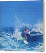Surfer Charles Martin Wood Print