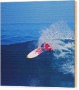 Surfer Glenn Hall - Nbr 1 Wood Print