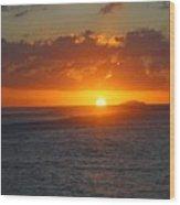 Surfers Beach Wood Print