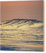 Surfers Gold Wood Print
