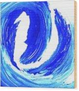 Surfin Usa Wood Print