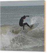 Surfing 115 Wood Print