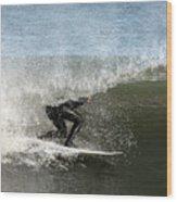 Surfing 151 Wood Print