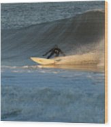 Surfing 79 Wood Print