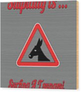 Surfing Bigstock  Donkey 171252860 Wood Print
