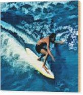 Surfing Legends 12 Wood Print