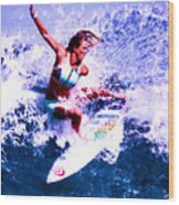 Surfing Legends 6 Wood Print
