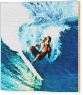 Surfing Legends 9 Wood Print