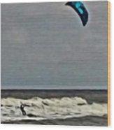 Surf's Up Wood Print