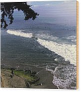 California Surfers Wood Print