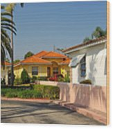 Surfside Neighborhood In Miami Beach Wood Print