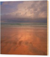 Surin Beach Before The Rain Wood Print