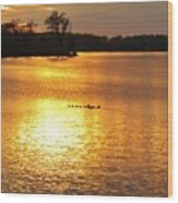 Surise-sunset 4 Wood Print