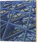 Surreal Dome Glass Wood Print