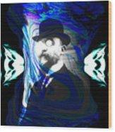 Surreal Satie, The Velvet Gentlemen Wood Print