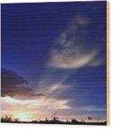 Surreal Sky-escape Wood Print
